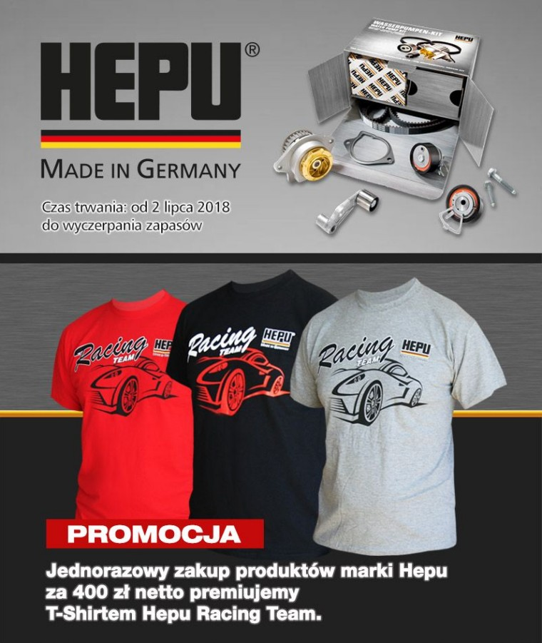 T-Shirty Hepu Racing Team
